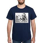 Pigeon Trio Dark T-Shirt