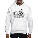 Pigeon Trio Hooded Sweatshirt