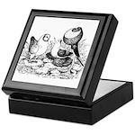 Pigeon Trio Keepsake Box