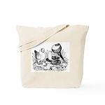 Pigeon Trio Tote Bag