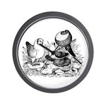 Pigeon Trio Wall Clock