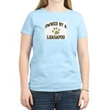Lhasapoo: Owned Women's Pink T-Shirt