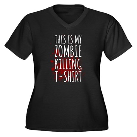 This is My Zombie Killing Plus Size T-Shirt