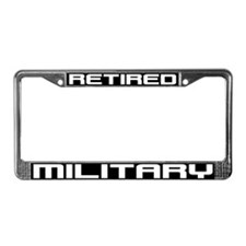Cute Military License Plate Frame