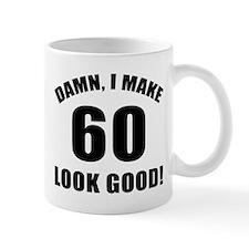 60th Birthday Humor Small Mug Small Mug