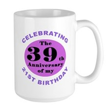 60th Birthday Humor Mug Ceramic Mugs