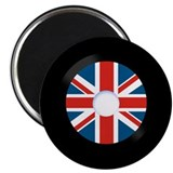 45 RPM British Invasion Record Magnet