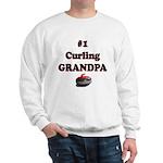 #1 Curling Grandpa Sweatshirt