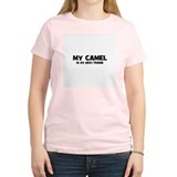 My CAMEL is my Best Friend Women's Pink T-Shirt