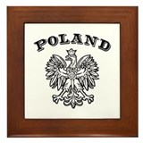 Poland Framed Tile
