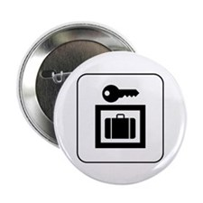 "Luggage Locker 2.25"" Button (100 pack)"