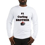 #1 Curling Brother Long Sleeve T-Shirt