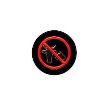No Bullshit! Mini Button