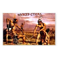 Wicked Sticks - Lacrosse Decal