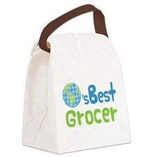 Earths Best Grocer Canvas Lunch Bag