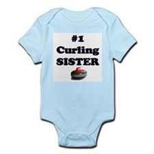 #1 Curling Sister Infant Bodysuit