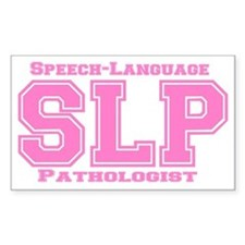 SLP (Pink) Rectangle Decal