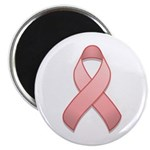 Pink Awareness Ribbon Magnet