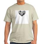 Contrabasson Heart Ash Grey T-Shirt