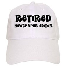 Retired Newspaper Editor Baseball Baseball Cap