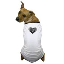 Didgeridoo Heart Dog T-Shirt