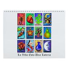 Loteria Celeste Wall Calendar