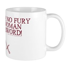 Woman with a Sword Coffee Mug
