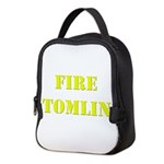 Fire Tomlin Outline Neoprene Lunch Bag