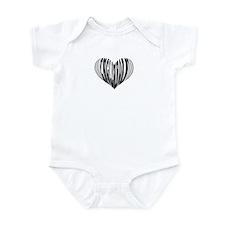 English Horn Heart Infant Bodysuit
