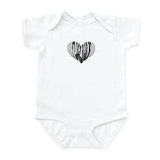 Flugelhorn Heart Infant Bodysuit