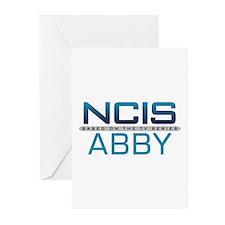 NCIS Logo Abby Greeting Cards (Pk of 20)