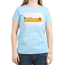 Visit Beautiful Bradenton, Fl Women's Pink T-Shirt