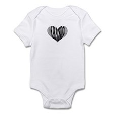 Harpsichord Heart Infant Bodysuit