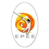 GO EPEE Oval Decal