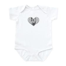 Piccolo Heart Infant Bodysuit