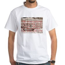 Captain James Cook 1779 White T-shirt
