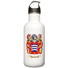 Marinello Coat of Arms - Family Crest Water Bottle