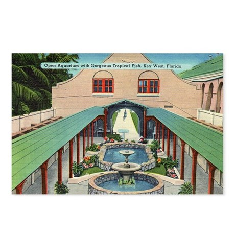 Outdoor Aquarium Vintage Key West Postcards
