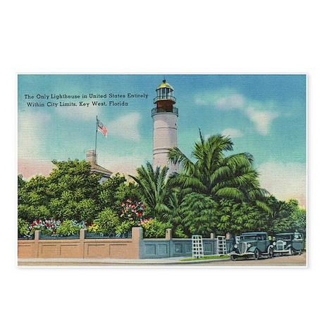Lighthouse Vintage Key West Postcards