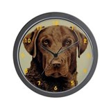 Chesapeake Retriever Wall Clock