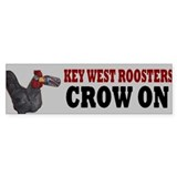 KEY WEST ROOSTER BUMPERSTICKER