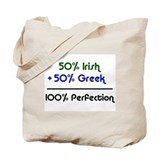 Irish & Greek Tote Bag