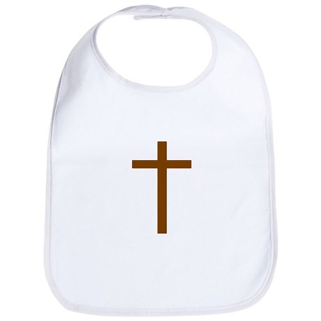 Brown Cross Bib