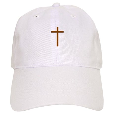 Brown Cross Cap