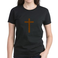 Brown Cross Women's Dark T-Shirt