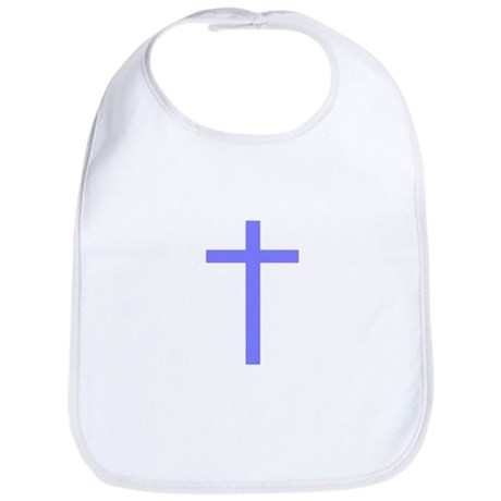 Purple Cross Bib