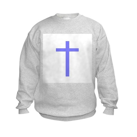 Purple Cross Kids Sweatshirt