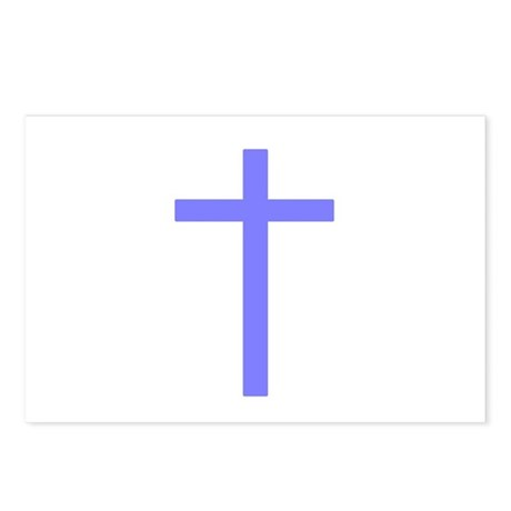 Purple Cross Postcards (Package of 8)