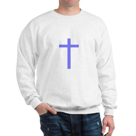 Purple Cross Sweatshirt