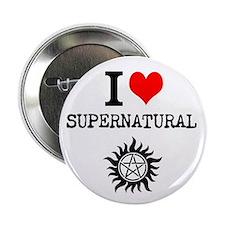 "I love Supernatural 2.25"" Button"